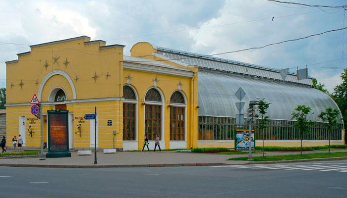 """Оранжерея Таврического сада (Выставочный зал """"Цветы"""")"""