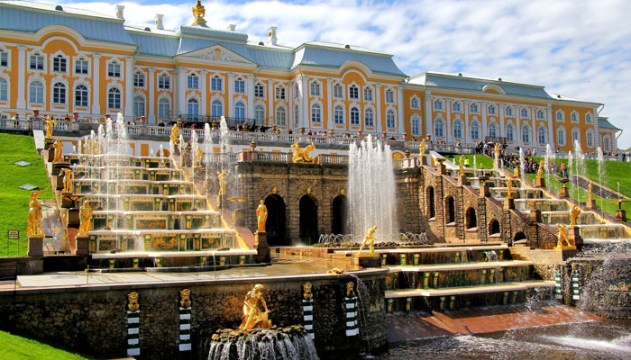 Петергоф (парки и фонтаны)
