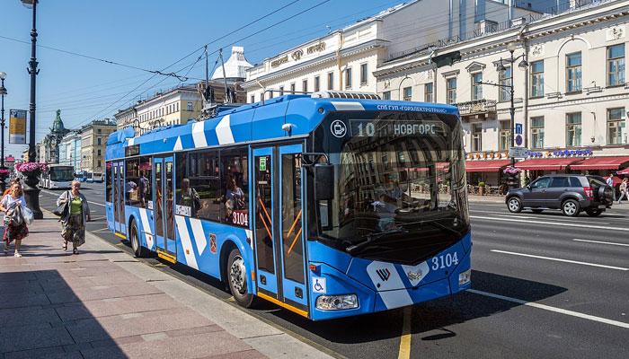 Троллейбус СПб ГУП «Горэлектротранс»